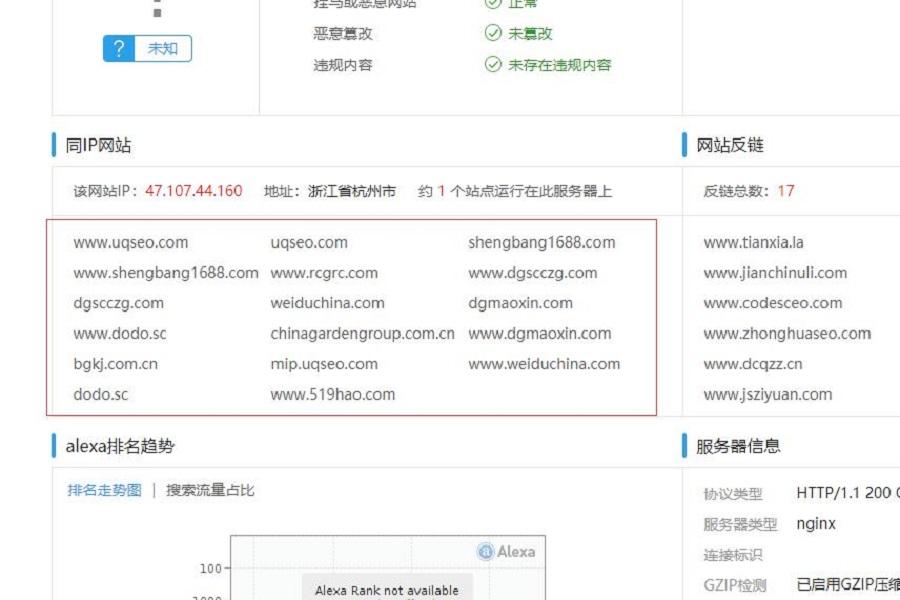 网站优化我们不知道为什么被惩罚时该怎么办|检测服务器