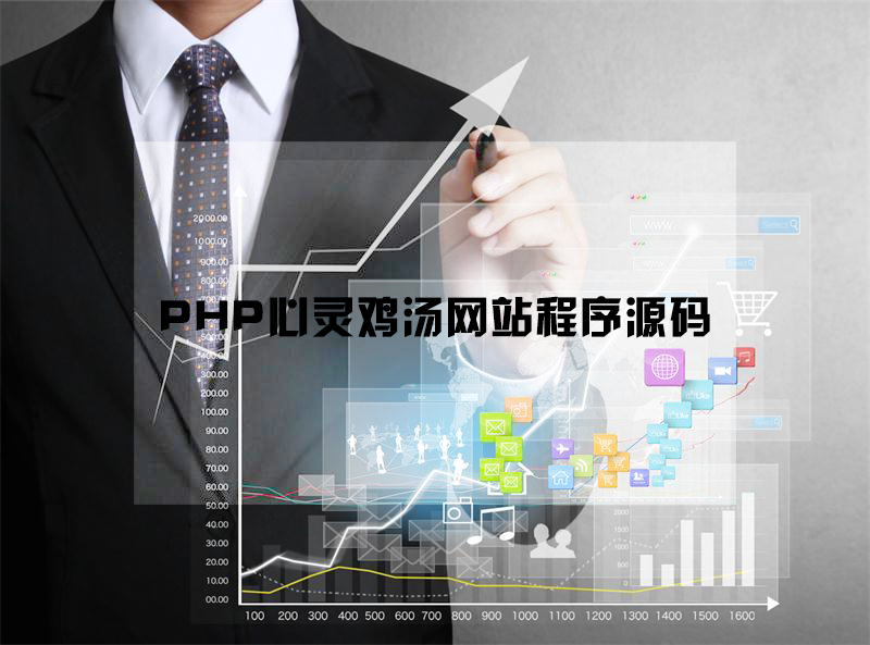PHP心灵鸡汤网站程序源码