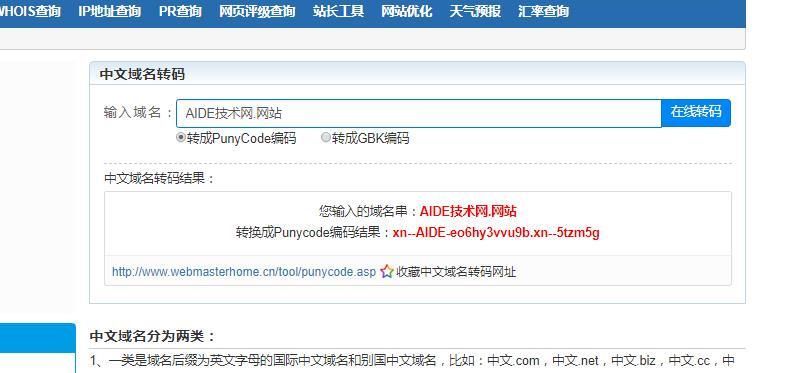 中文域名绑定虚拟主机显示不合法如何解决|正文
